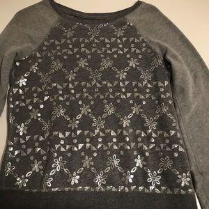 Gray Hollister sweater